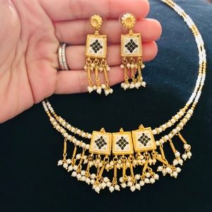 Jewelry - Gorgeous indian antique necklace!